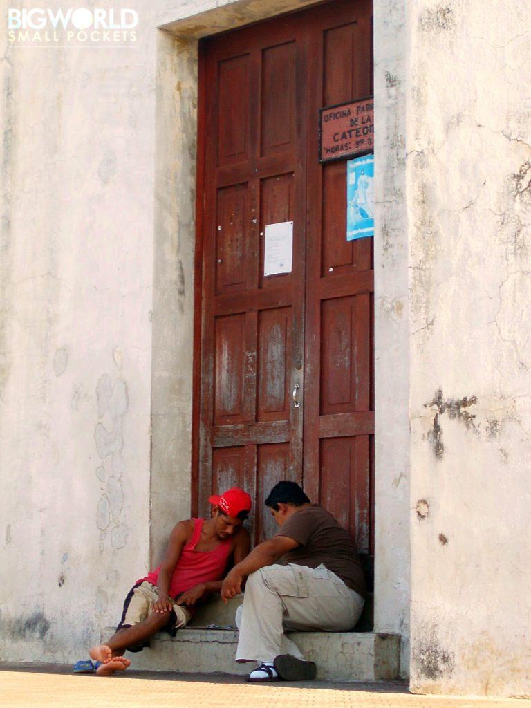 Men in Doorway