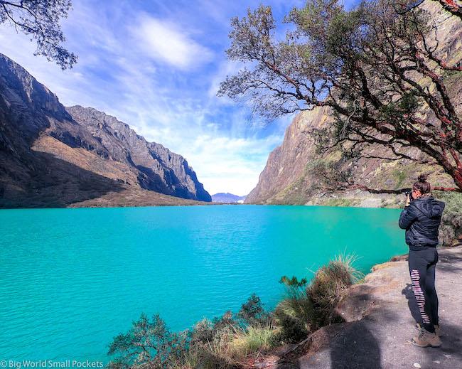 Peru, Huaraz, Laguna