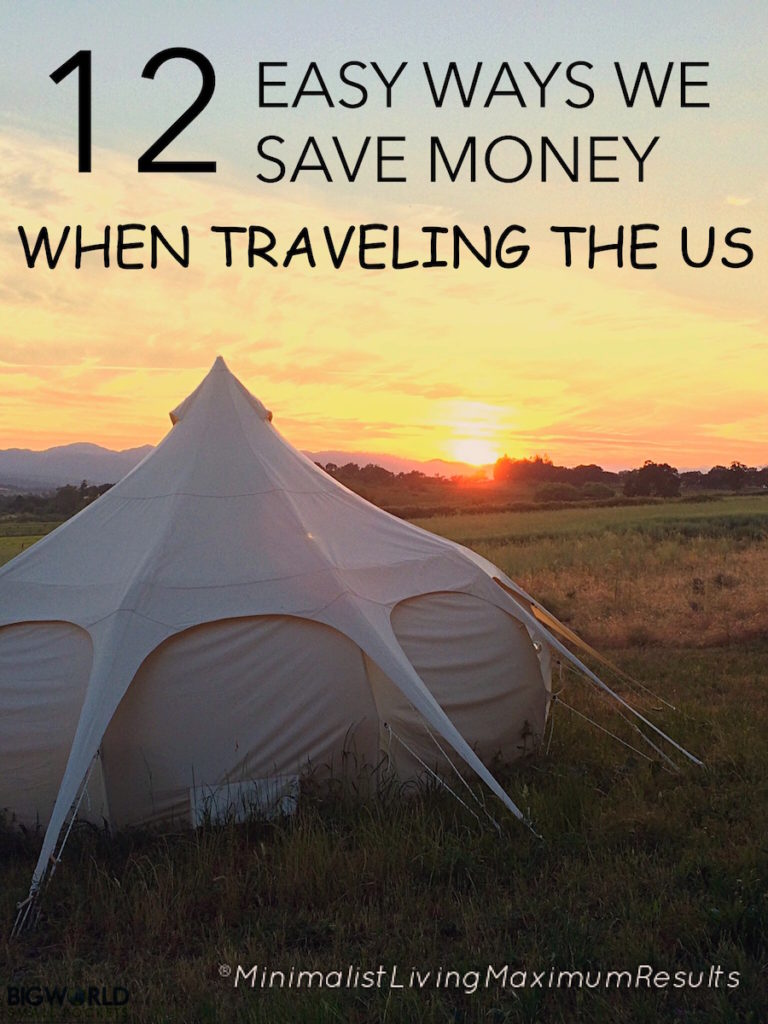 12 Easy Ways To Save Money When Traveling the US {Big World Small Pockets}
