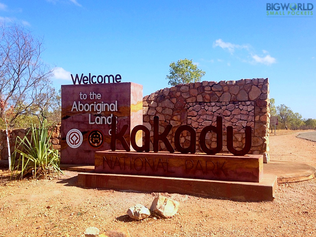 Australia, NT, Kakadu NP Entrance