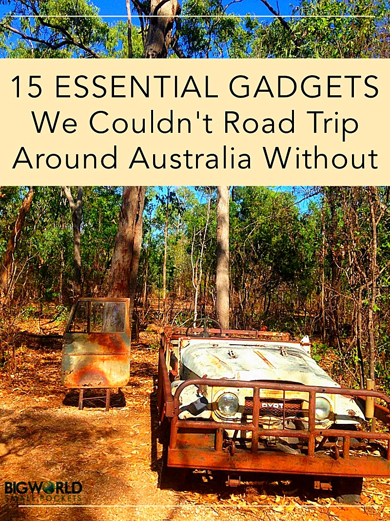 15 Essential Gagdets We Couldn't (and your shouldn't) Road Trip Australia Without {Big World Small Pockets}