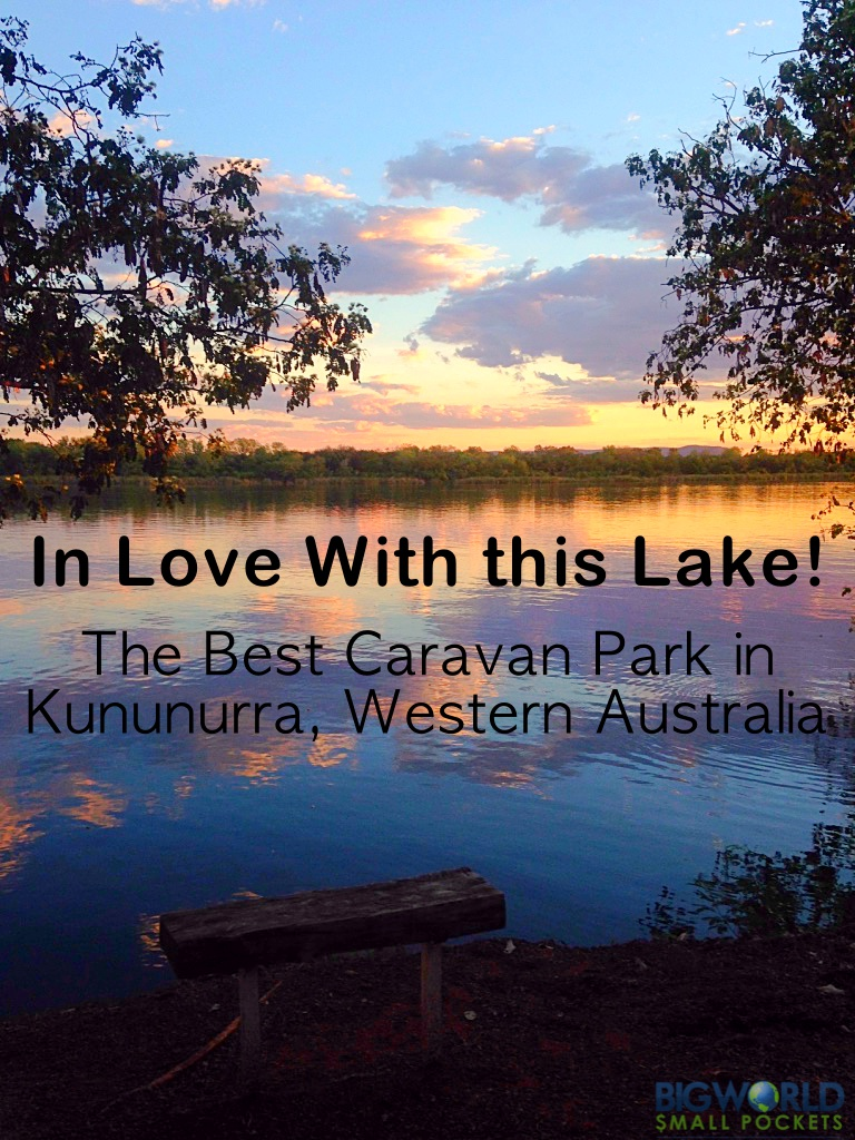 I'm In Love With This Lake! The Best Caravan Park in Kununurra, Western Australia {Big World Small Pockets}