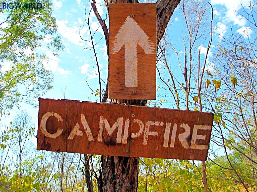 campfire-sign