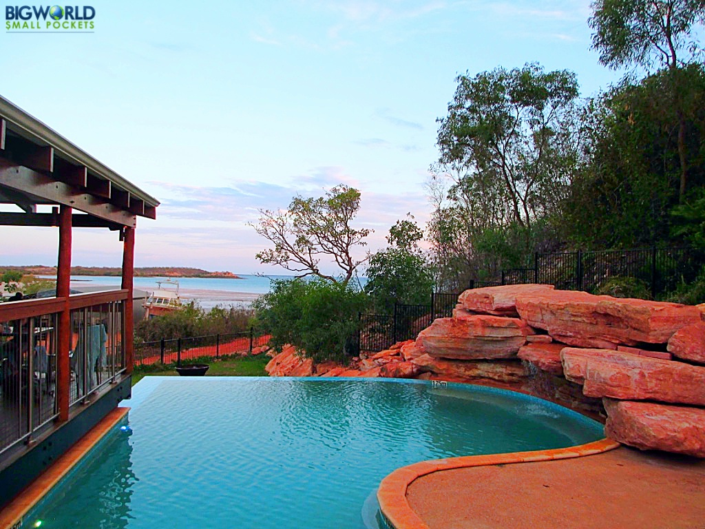 Cygnet bay pearl farm the most unique place we ve stayed in australia big world small pockets - Small infinity pool ...