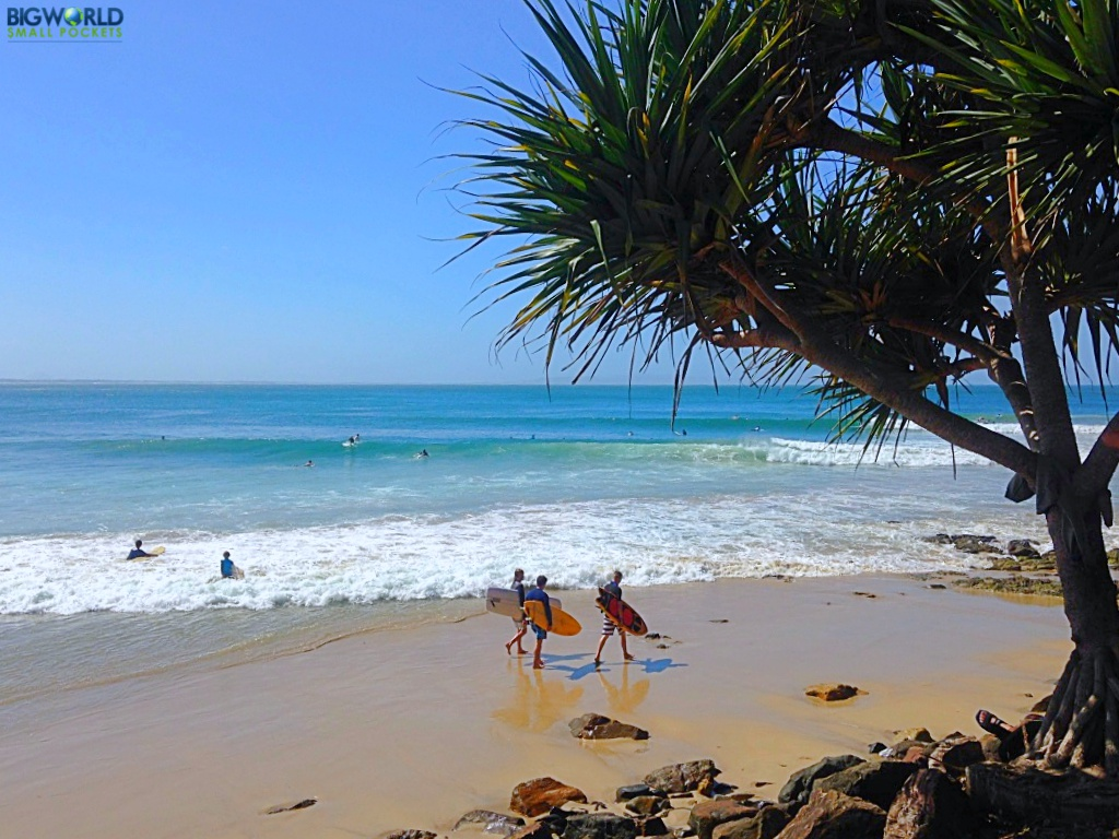 Australia, Noosa, Surfers