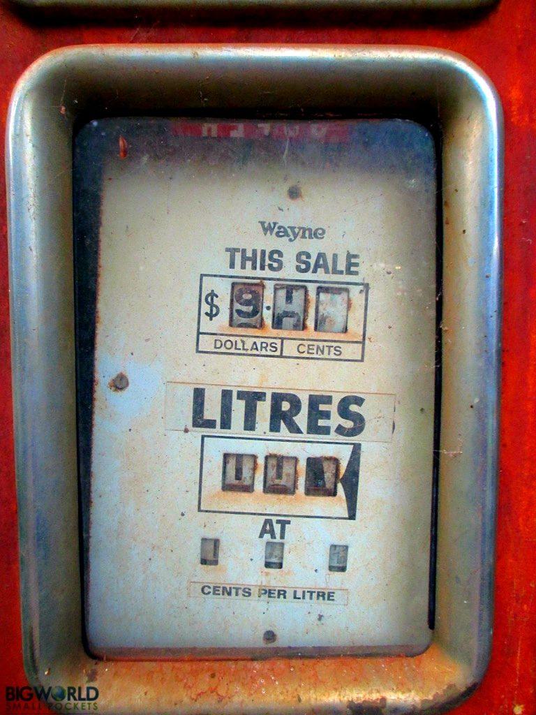 Australia, Cygnet Bay, Petrol Pump