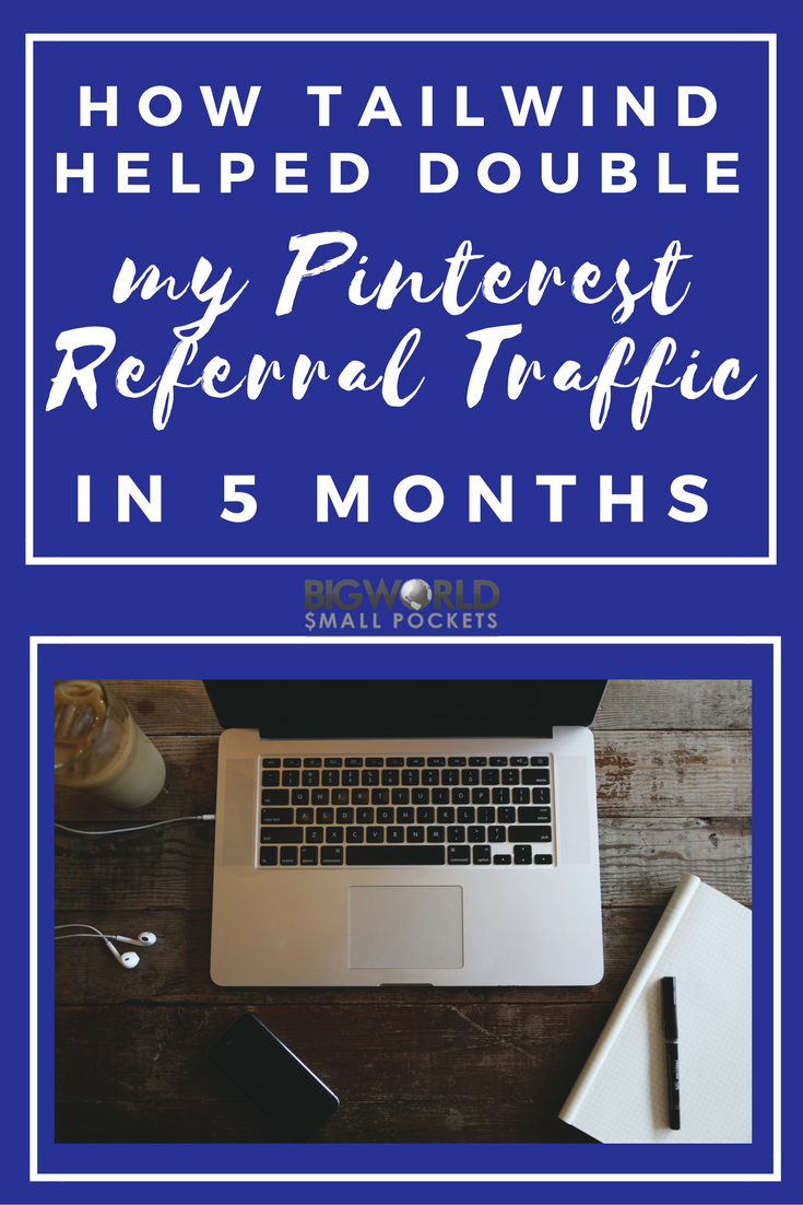 Want to know how I I doubled the traffic to my blog from Pinterest? Click here to find out {Big World Small Pockets}
