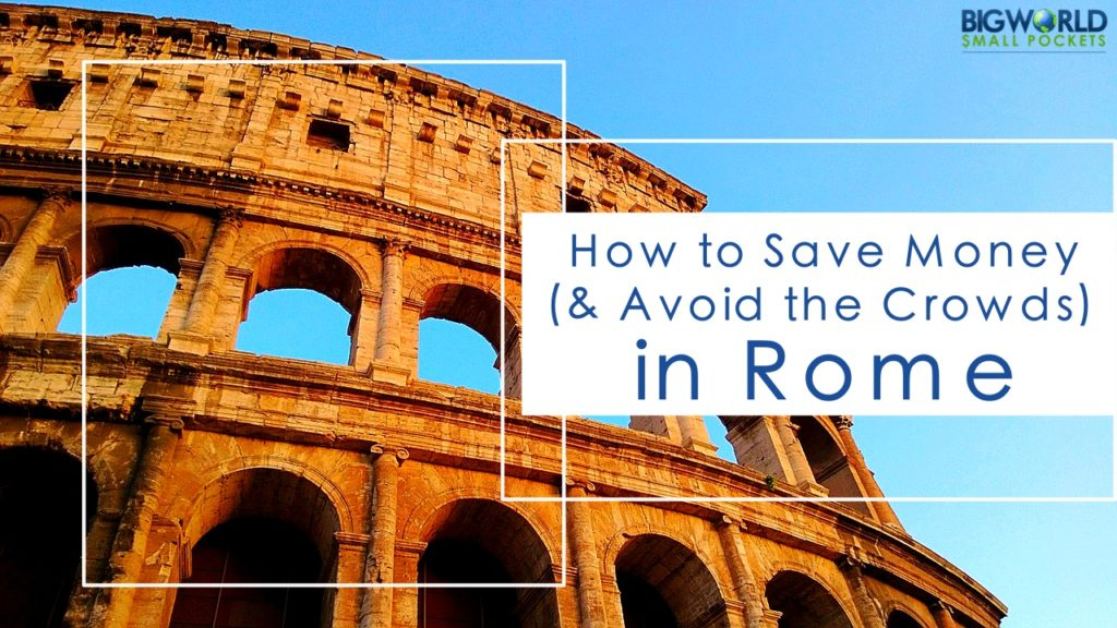 How to Save Money in Rome