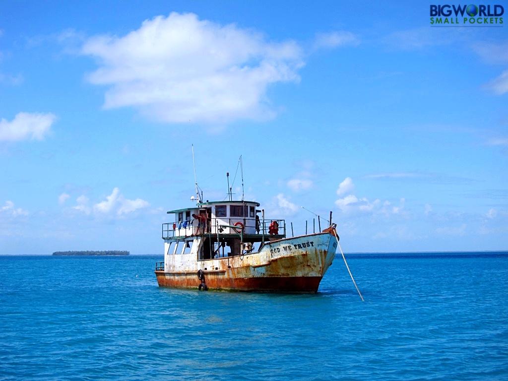 Nicaragua, Little Corn, Boat