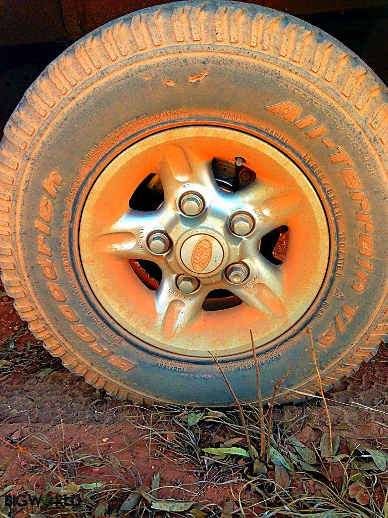 Australia, Outback, Red Dust Tyre
