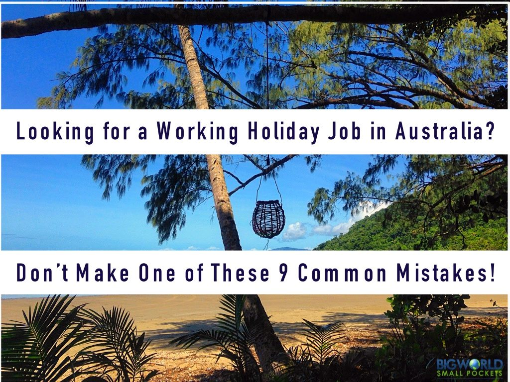 Working Holiday Job in Australia