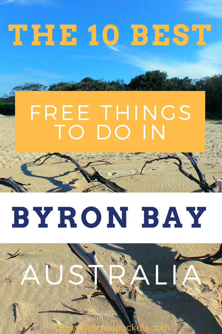 Love it or Hate It!?! Byron Bay is 1 Place You Have to Visit in Australia. Here's my top tips for a budget-friendly time there {Big World Small Pockets}