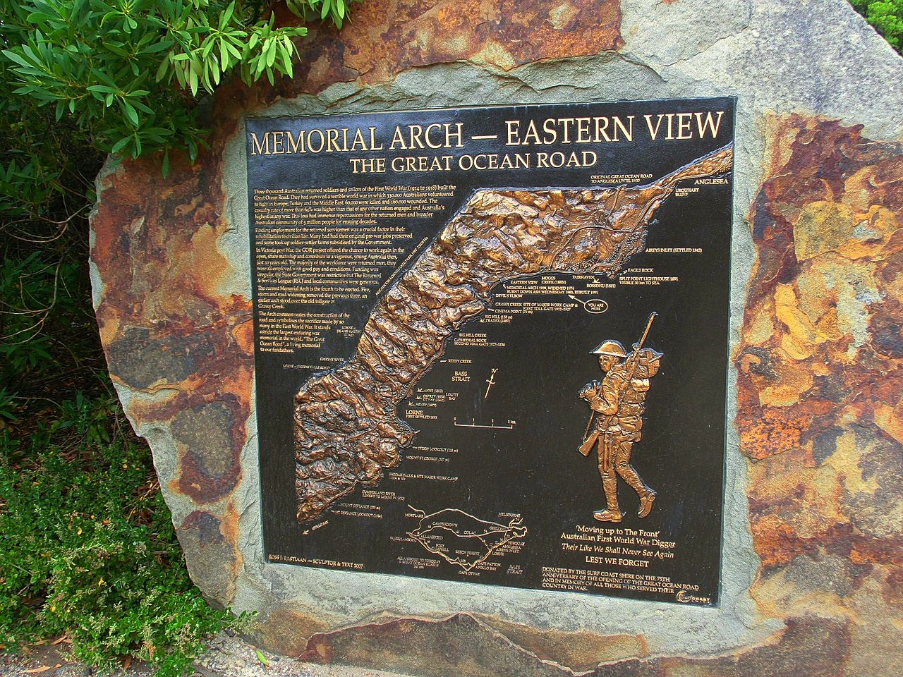 Australia, Victoria, Memorial Arch