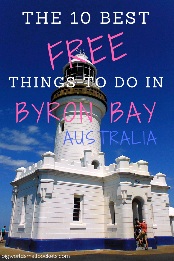 The 10 Best FREE Things to Do in Byron Bay, Australia