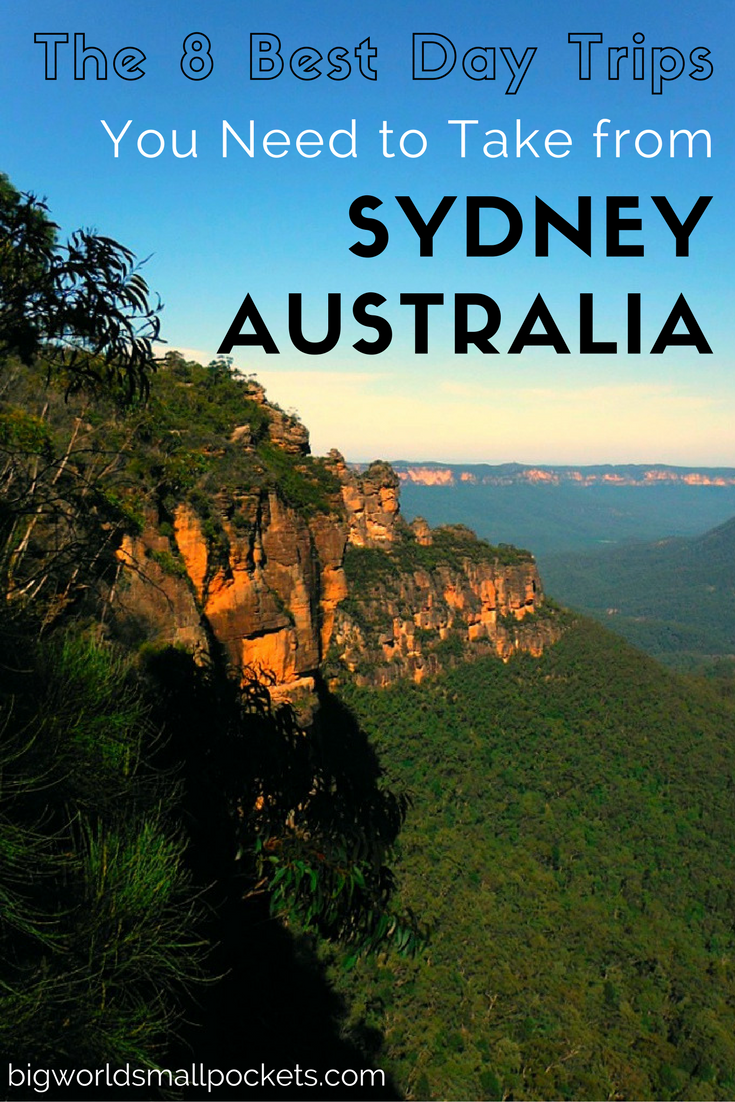 The 8 Best Day Trips from Sydney, Australia - they're well worth leaving the city for! {Big World Small Pockets}