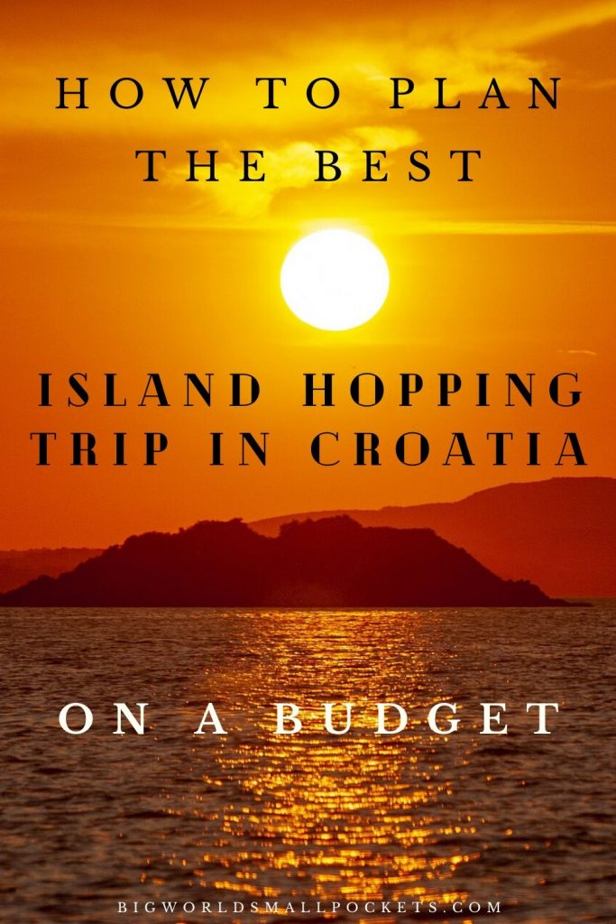 How to Organise the Best Croatian Island Hopping Trip.... For Less!