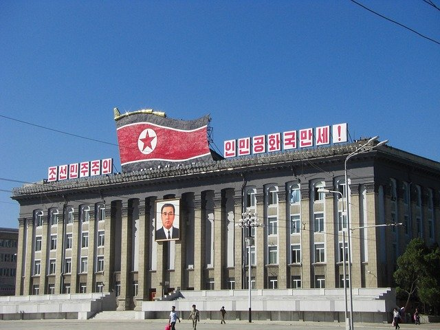 North Korea, Pyongyang, Building