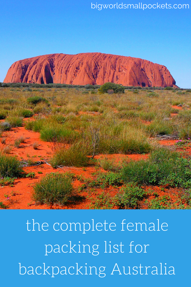 The Ultimate Female Backpacking Australia Packing List {Big World Small Pockets}