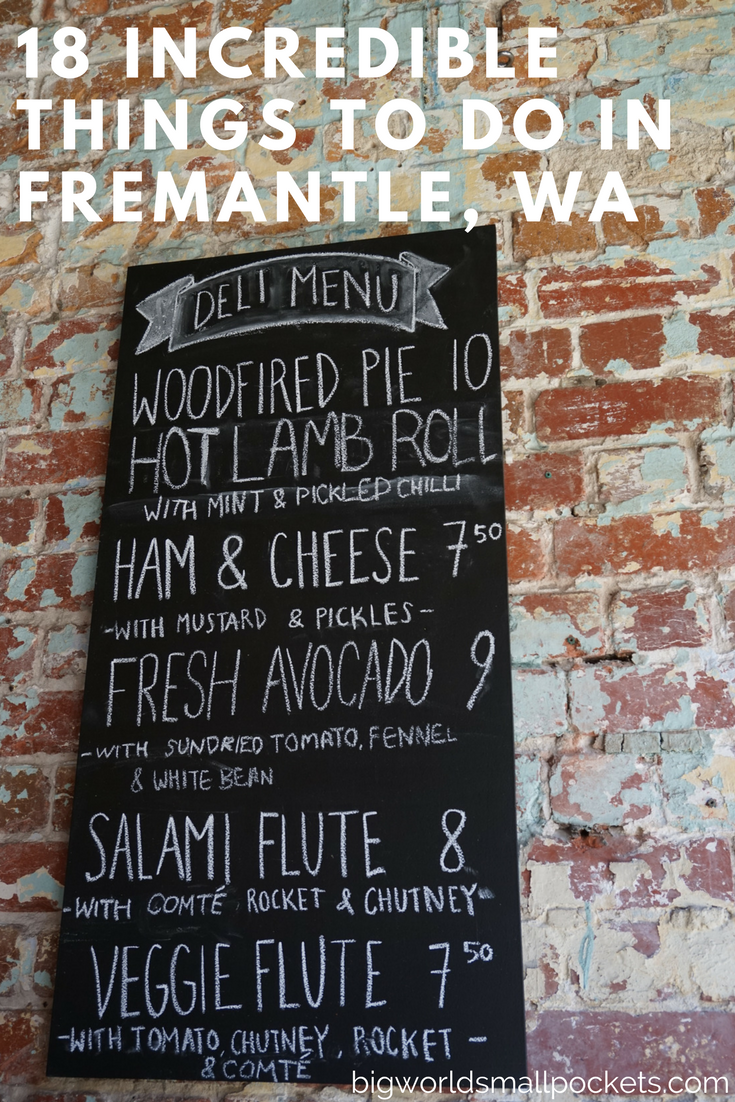 Looking to Get Off the Tourist Trail? // 18 Local Hotspots in Fremantle, Western Australia {Big World Small Pockets}