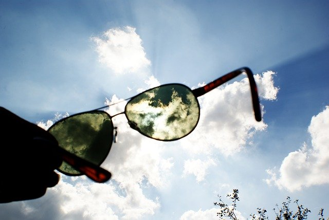 Sunglasses, Blue Sky