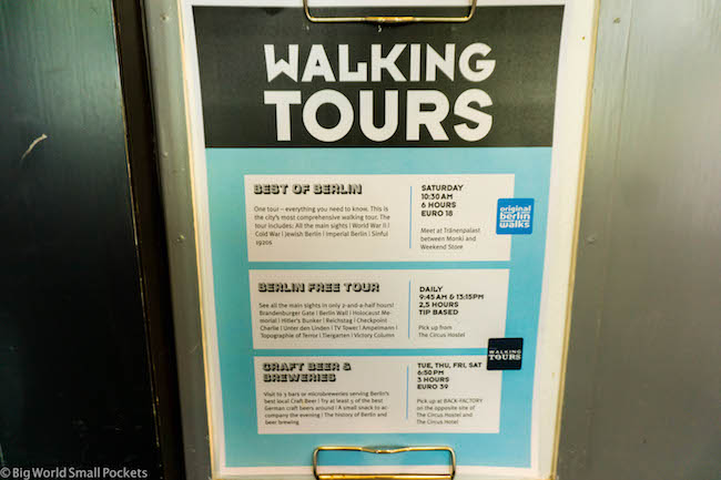 Germany, Berlin, Walking Tours