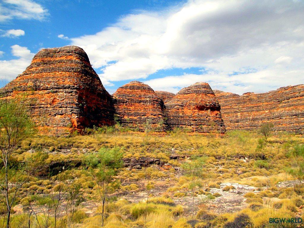 Australia, Purnululu NP, Domes