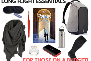 The 12 Long Flight Essentials … For Those on a Budget!