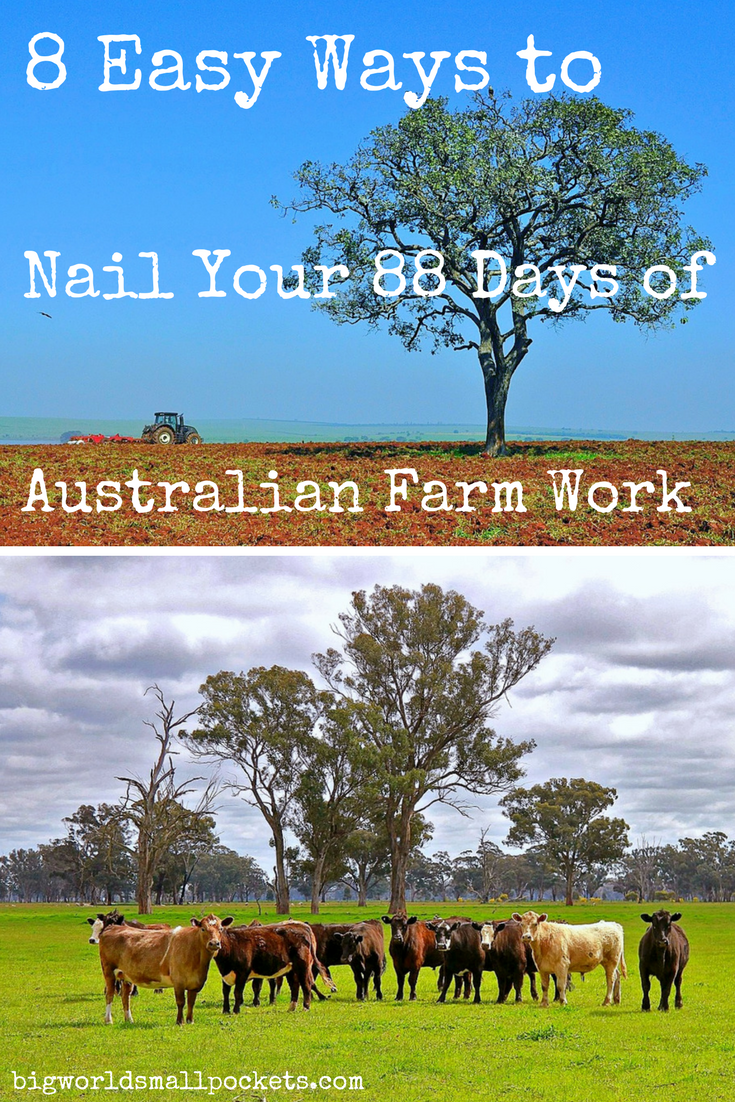 8 Ways to Nail Your 88 Days of Australian Farm Work {Big World Small Pockets}