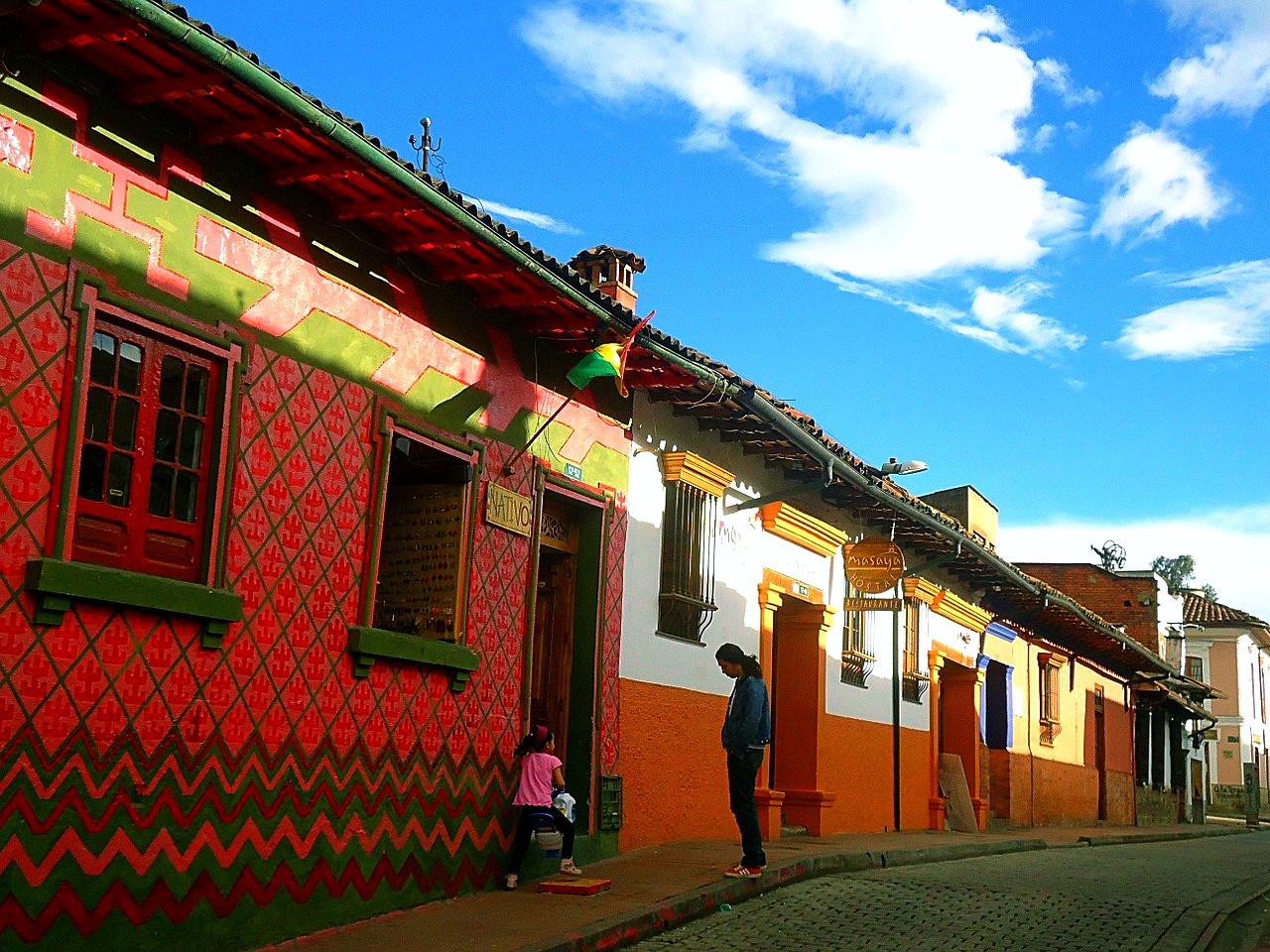 Colombia, Bogota, Houses