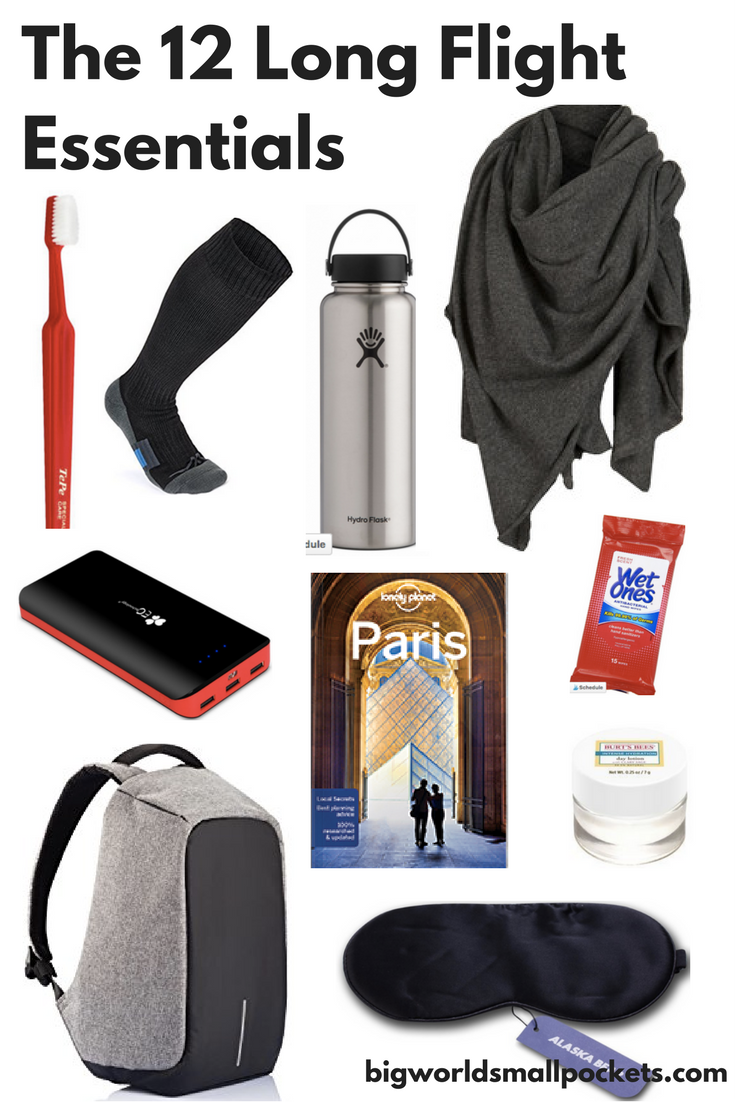 Long Flight Essentials ... For Those on a Budget! {Big World Small Pockets}