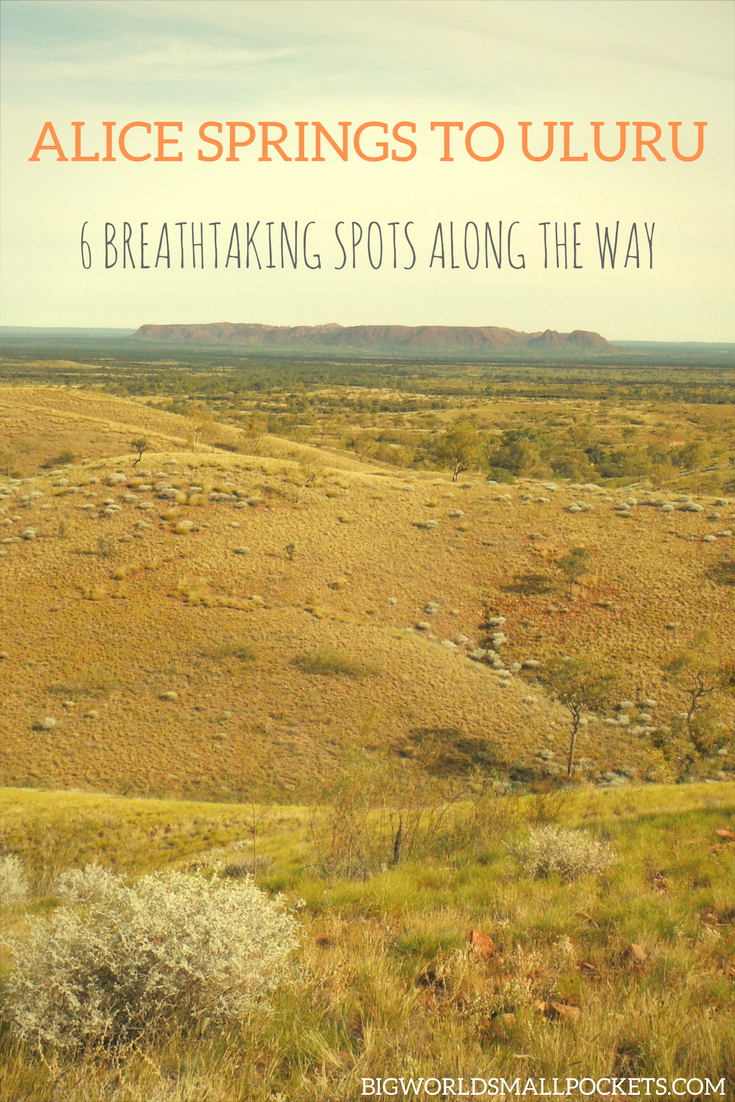 Alice Springs to Uluru - The Best Things to See on Australia's Most Amazing Drive {Big World Small Pockets}