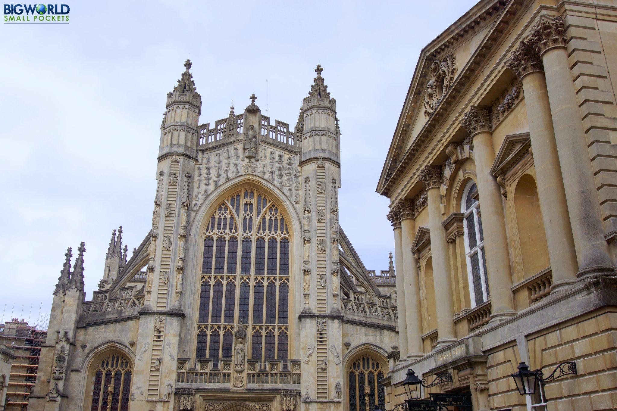 England, Somerset, Bath Abbey