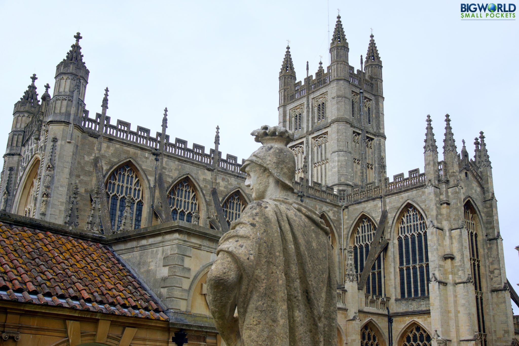 UK, Somerset, Bath Abbey
