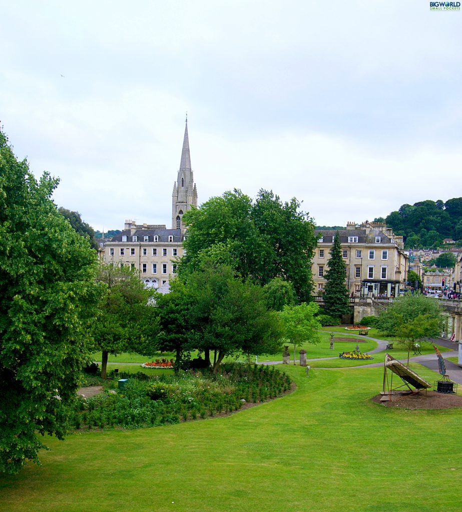 England, Bath, Park