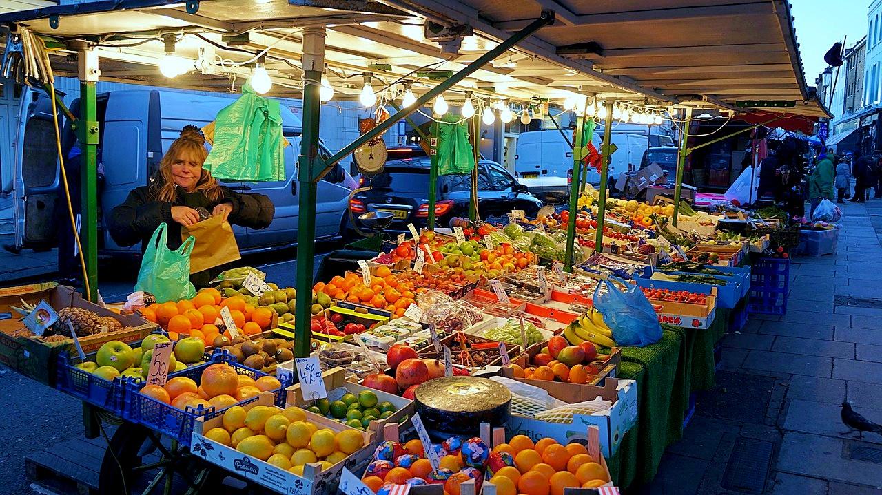 UK, London, Market