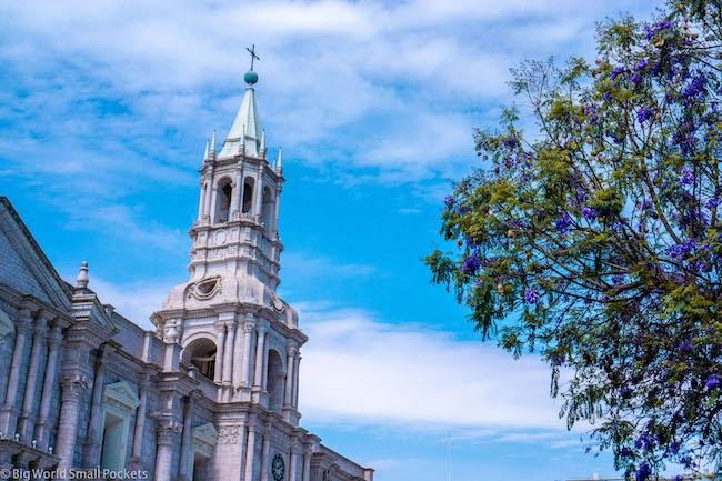 Peru, Arequipa, Basilica