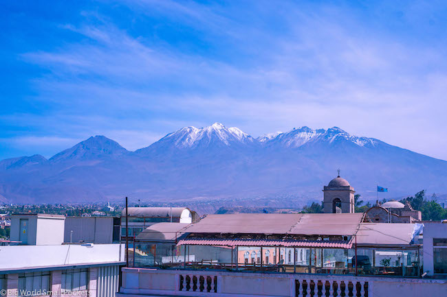 Peru, Arequipa, Volcano Views