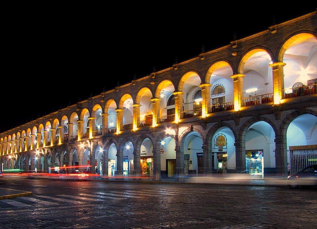 Peru, Arequipa, Main Square