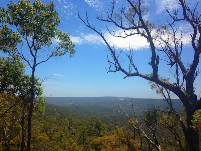 Australia, Perth Hills, View