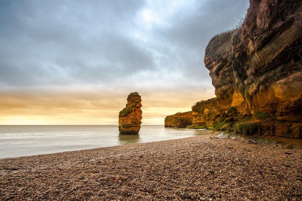 England, Devon, Beach