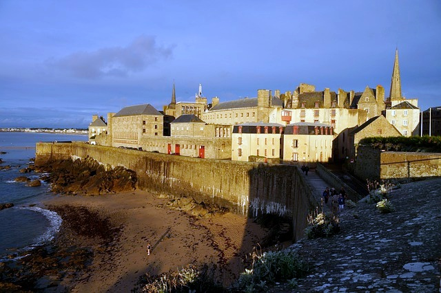 France, St Malo, Sunset