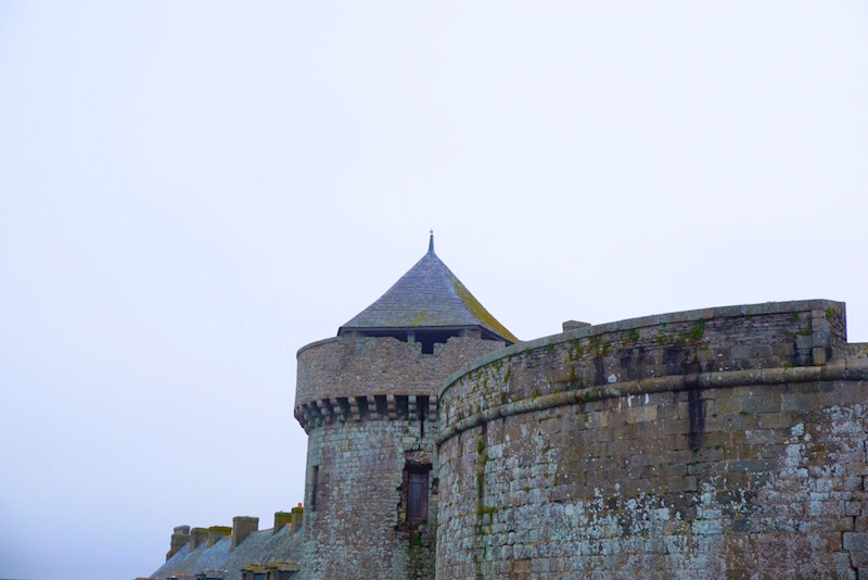 France, St Malo, Turret