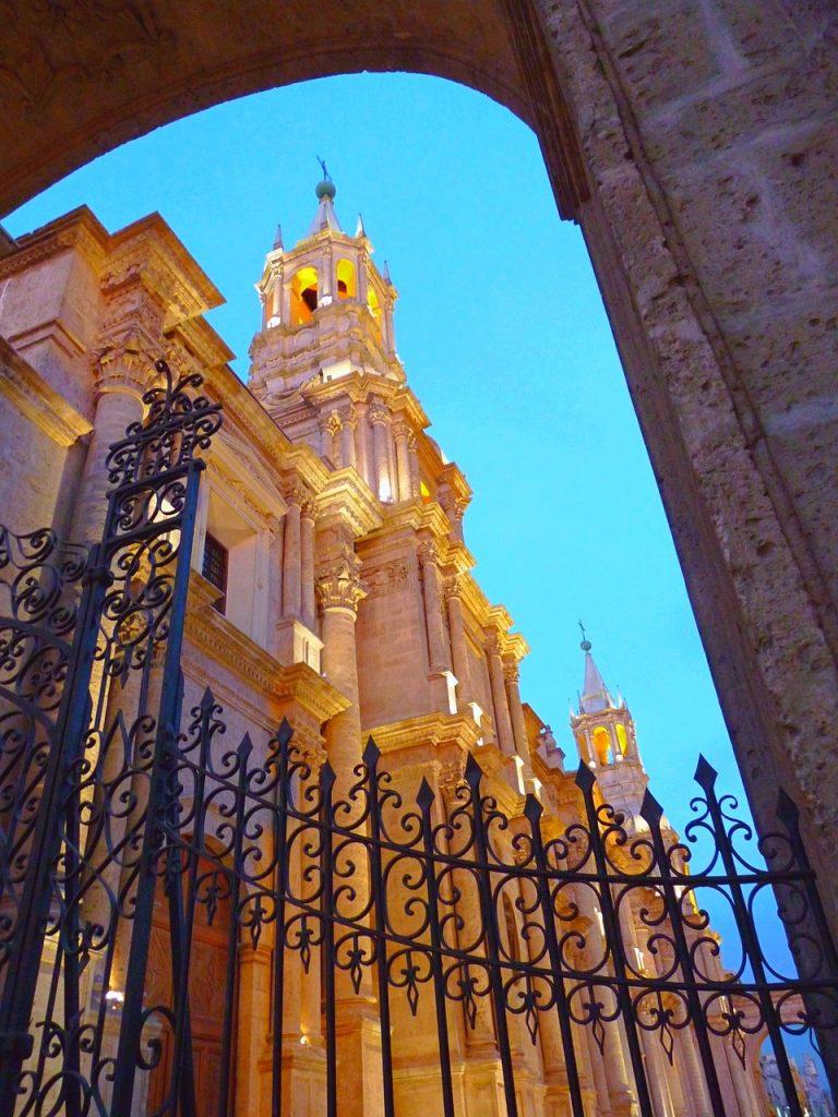 Peru, Arequipa, Cathedral
