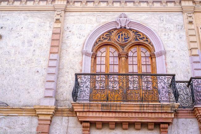 Peru, Arequipa, Colonial Building
