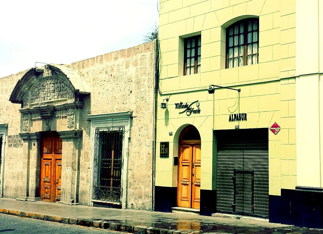 Peru, Arequipa, Doors