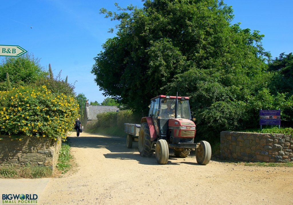 Sark Tractor