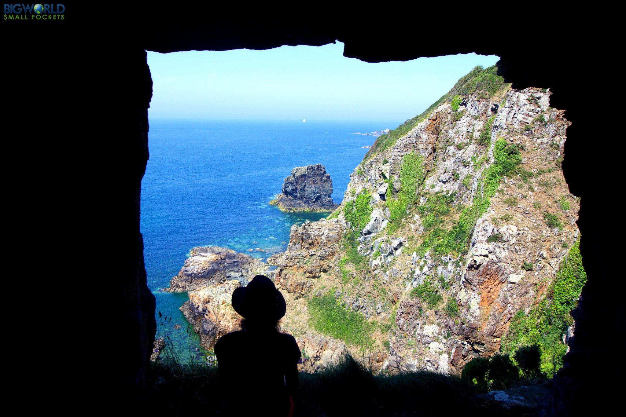 Channel Islands, Sark, Window in the Rock