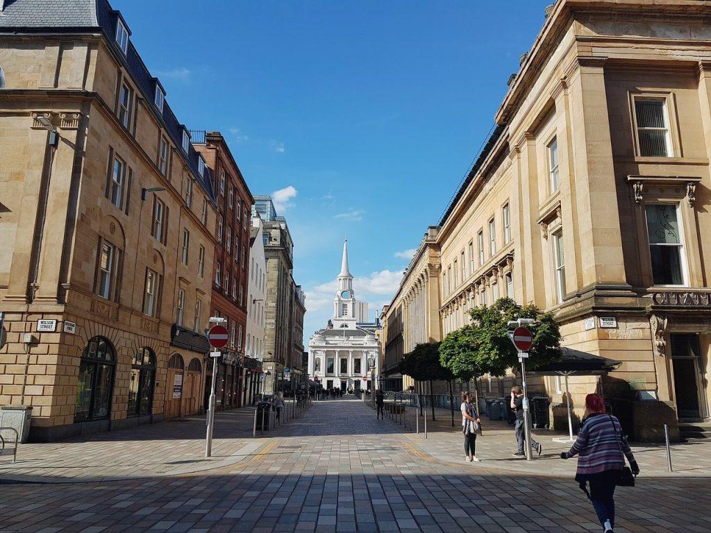 Scotland, Glasgow, Street