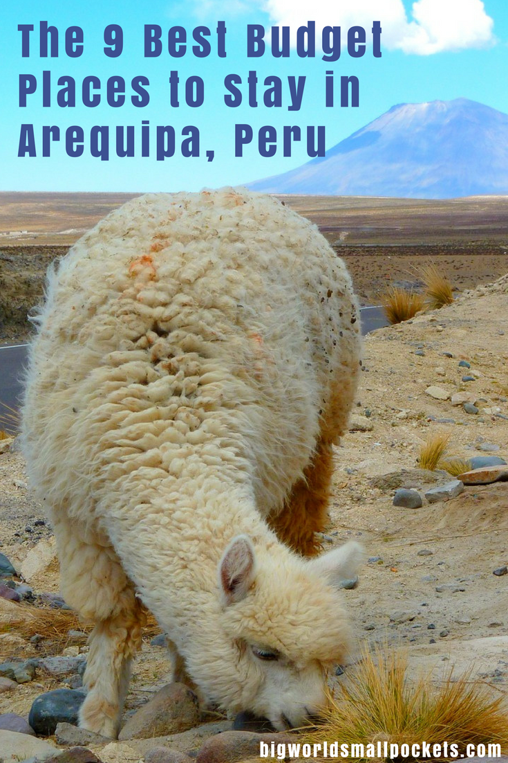 Visiting Arequipa in Peru? Here's the Best Choices When it Comes to Budget Accommodation {Big World Small Pockets}