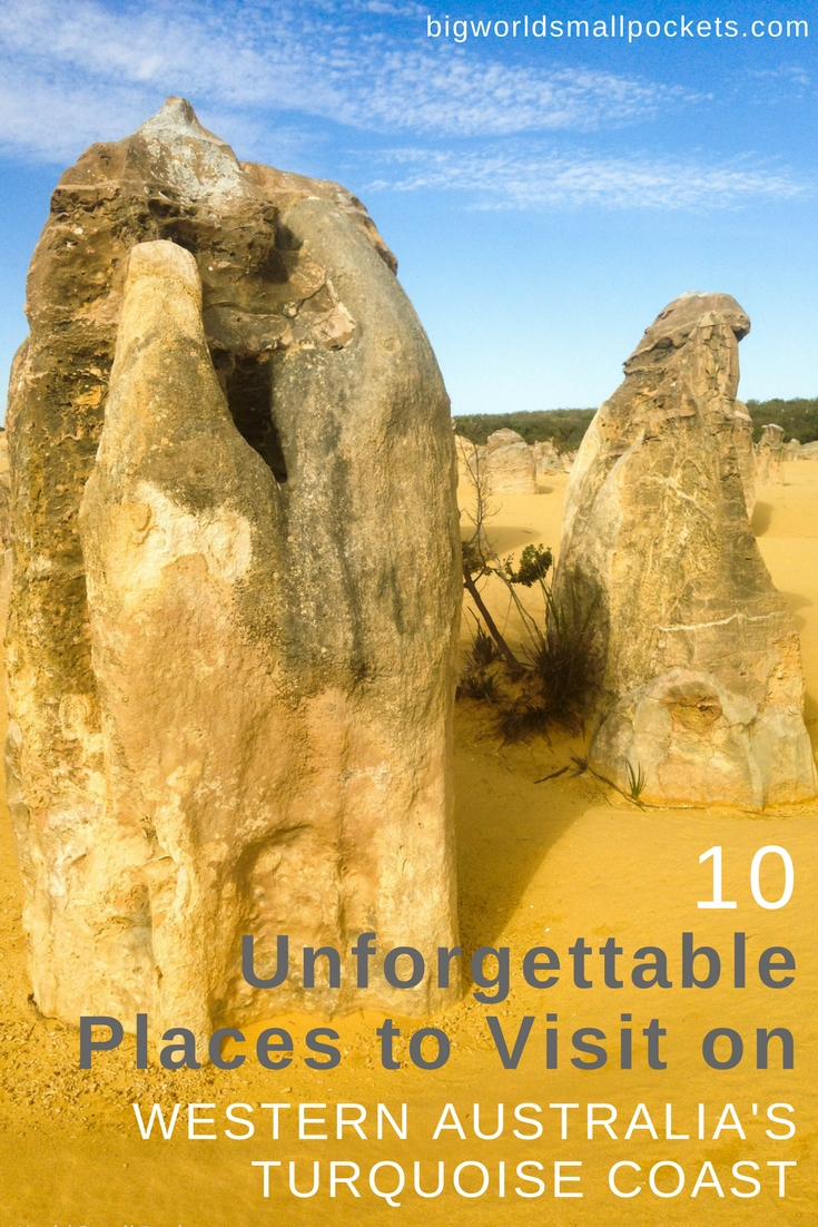 10 Unforgettable Places to Visit Along Western Australia's Turquoise Coast {BIg World Small Pockets}